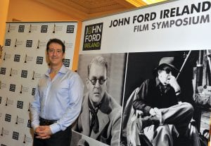 """Christopher Caliendo  pictured at the Gala opening night of the 1st John Ford Ireland Film Symposium – THE IRON HORSE – Irish Premiere at the National Concert Hall, Dublin on 7 June 2012. www.johnfordireland.org  Copyright Notice: No Fee. For one time use only in relation to the John Ford Ireland Film Symposium. Please credit """"Courtesy of IFTA. Photo Michael Chester"""" where used. Contact press@ifta.ie for further information.  © Irish Film & Television Academy (IFTA) 2012. All Rights Reserved."""